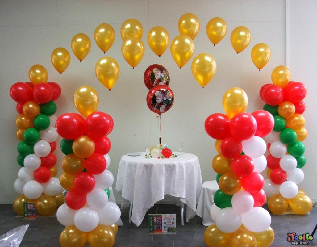 Balloon decorating ideas android apps on google play for Balloon decoration at home