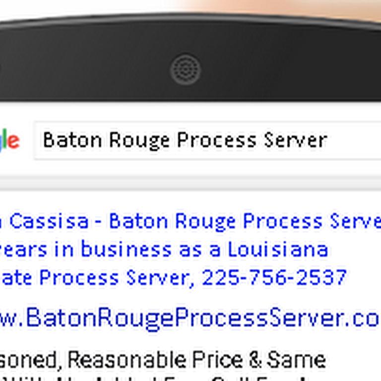Baton Rouge, La Process Servers