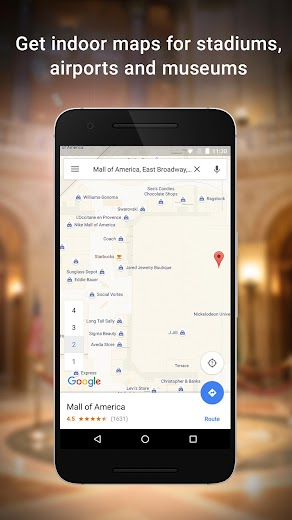 Screenshot 7 for Google Maps's Android app'