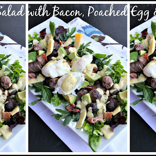 Winter Salad with Bacon, Poached Egg & Boerewors