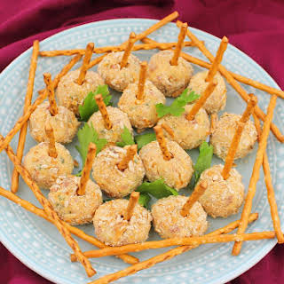 Cheese Ball Pops.