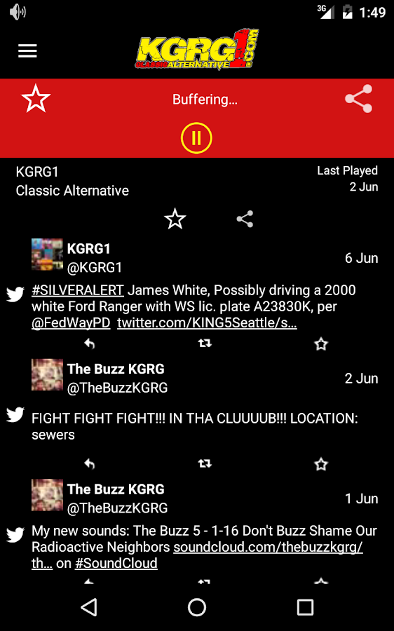 KGRG1 Your Classic Alternative- screenshot