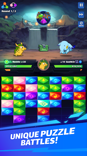 Mana Monsters: Free Epic Match 3 Game painmod.com screenshots 1
