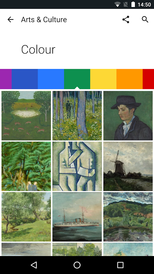 Google Arts & Culture – Screenshot