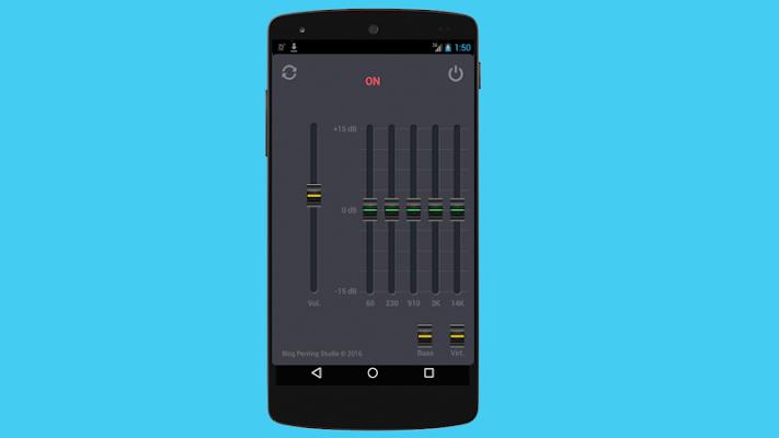 Super Bass Booster - screenshot