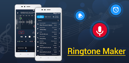 Cut music, song, audio (mp3 flac m4a wav).  Make ringtone, alarm, notification