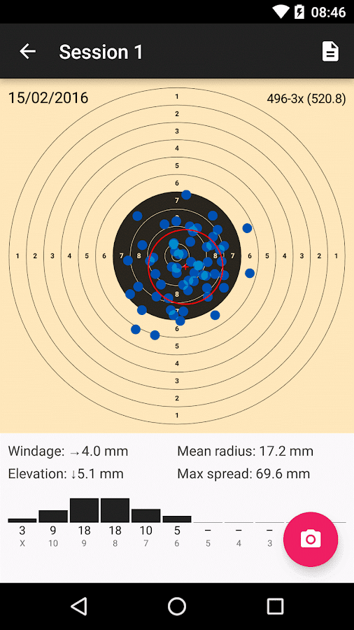 TargetScan ISSF Pistol & Rifle- screenshot