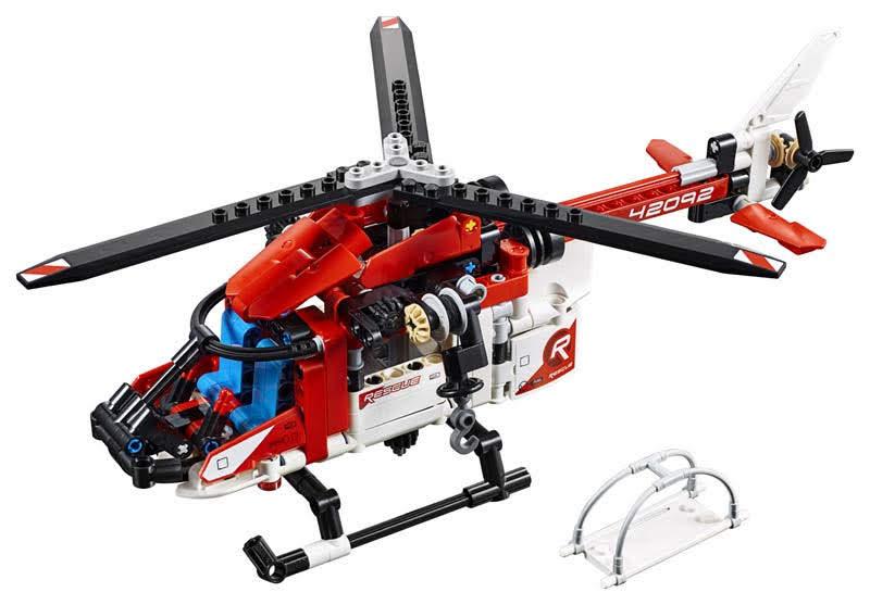 Contenido de Lego® 42092 Helicóptero de Rescate