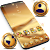 Golden Launcher Theme file APK for Gaming PC/PS3/PS4 Smart TV