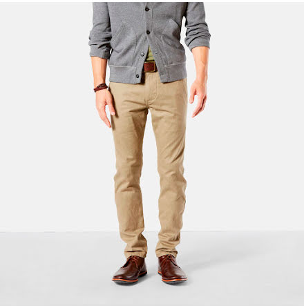 Dockers Alpha Khaki skinny new british khaki