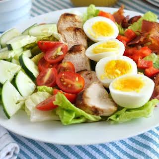Grilled Chicken Cobb Salad.