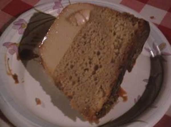 Butter Pecan Flan Cake