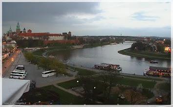 Photo: Vista general de Cracovia y el Vistula