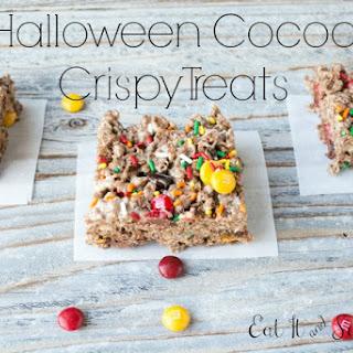 Halloween Cocoa Crispy Treats