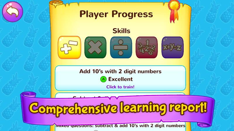 Скриншот Wonder Bunny Math: 3rd Grade