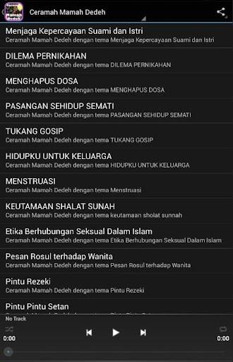 Kumpulan Ceramah Mamah Dedeh Apk Download Apkpure Co