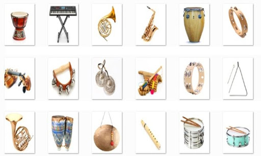 Musical Instrument Onet Game