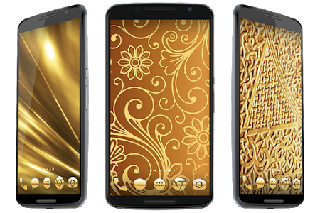 Golden Theme screenshot 6