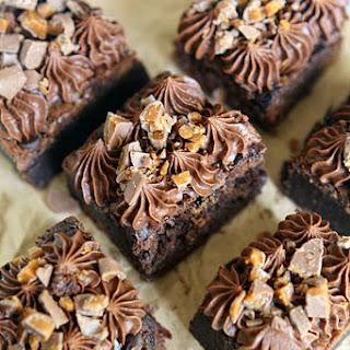 Daim Crunch Fudge Brownies Recipe