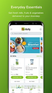 bbdaily: Online Daily Milk & Grocery Home Delivery Screenshot