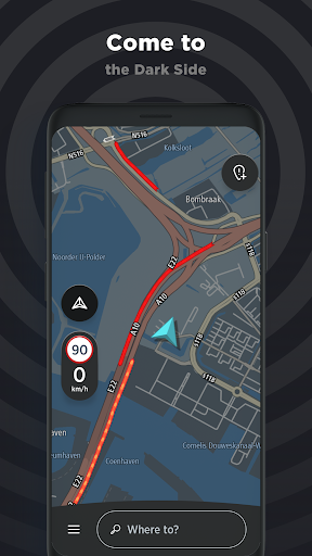 TomTom AmiGO - GPS, Speed Camera  & Traffic Alerts 7.325.1 Screenshots 6