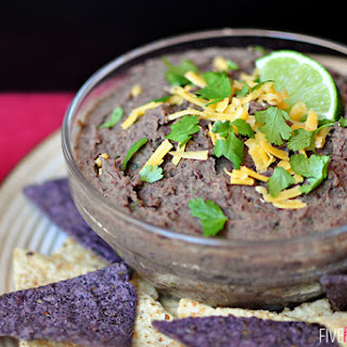 Zesty Black Bean Dip Recipe