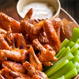 Broiled Buffalo Wings.