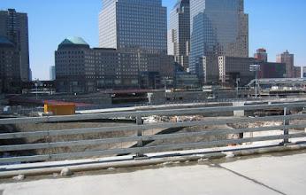 Photo: Ground Zero - WTC tornien nyt tyhjä tontti