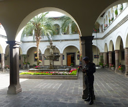 Photo: View of one courtyard, ground floor