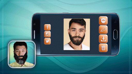 髭シミュレーション アプリ
