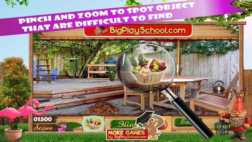 android Backyard Fun New Hidden Object Screenshot 0