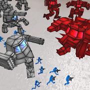 Stickman Mech Battle Simulator