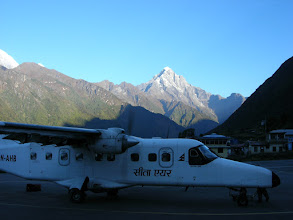Photo: Lukla Airport on a beautiful day