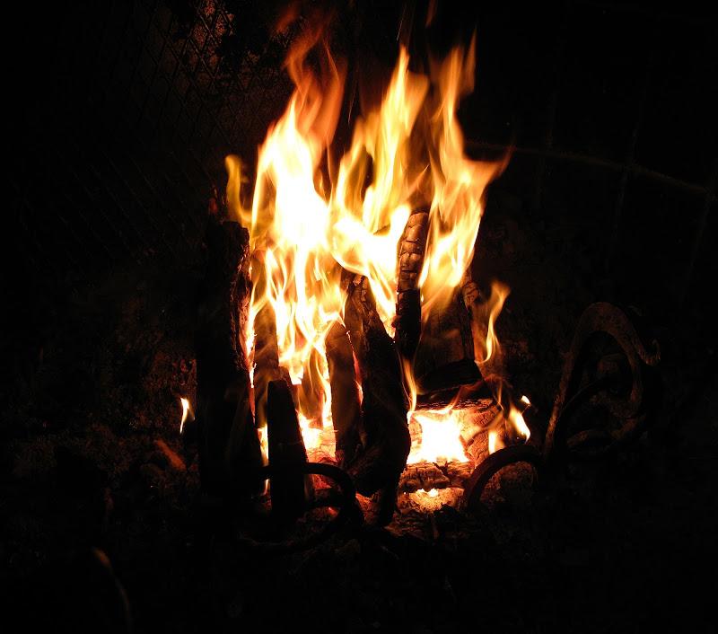 il fuoco nel castello di manolina