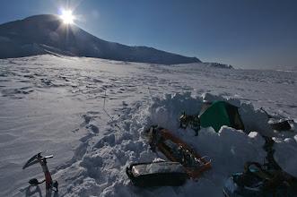 Photo: Camp on Summit Plateau. 5000m
