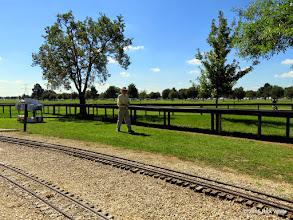 Photo: Art Gibson running his passenger train at 11:36 AM      HALS Public Run Day 2015-0919 RPW