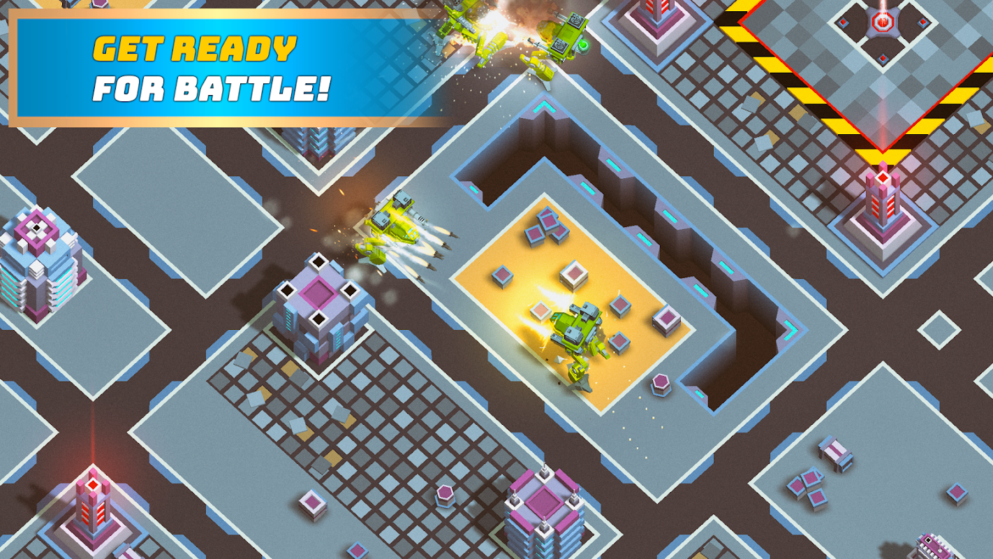 Download Robots io - Battle of Titans APK + Mod APK + Obb