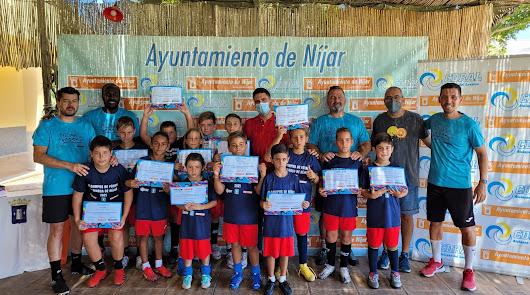 Níjar prioriza el deporte formativo con el II Campus de Fútbol Comarca de Níjar