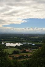 Photo: J24 : Montverdun, les Etangs du Roi, vus du Mont d'Uzore