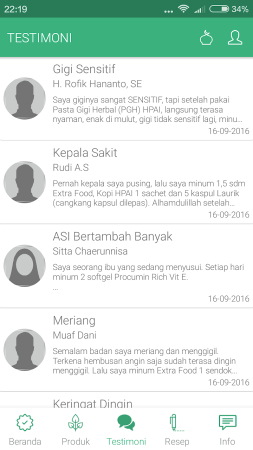 HNI Mobile- screenshot
