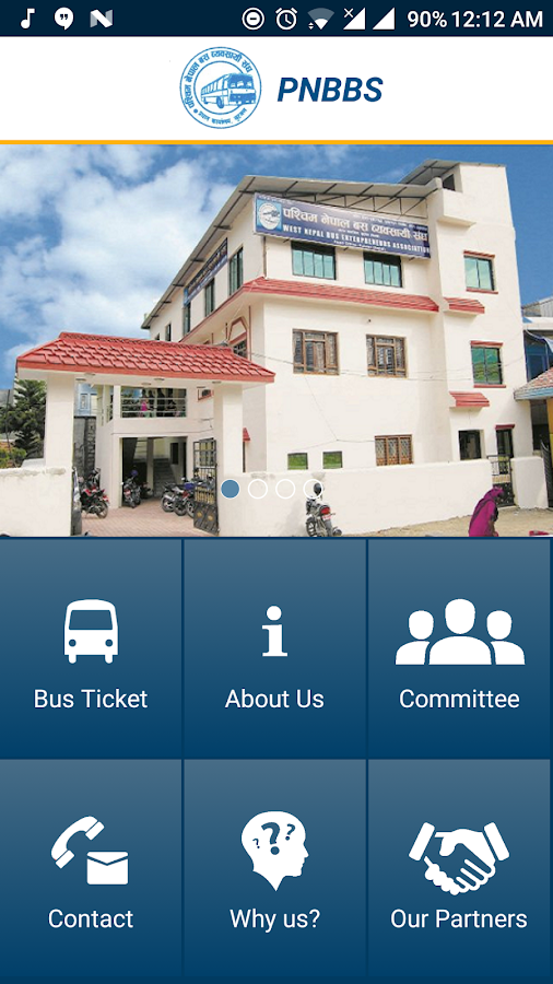 PNBBS - West Nepal Bus Booking- screenshot