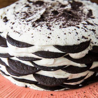 The Famous Chocolate Wafer Icebox Cake.