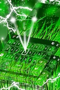 Leaf Keyboard Téma - náhled