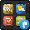 Fabric stitch Lancher Theme icon