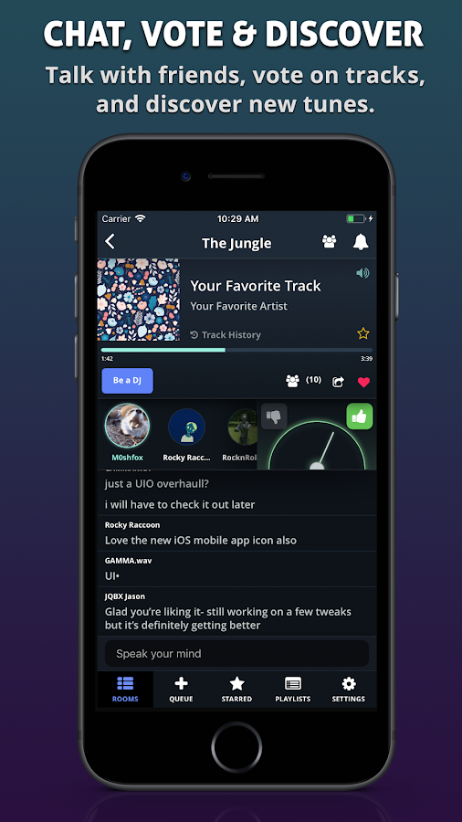 JQBX: Discover Music Together- screenshot