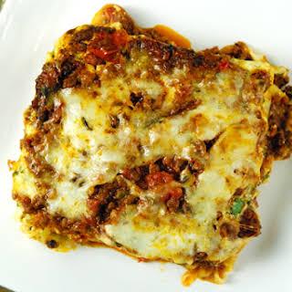 Venison Lasagna.