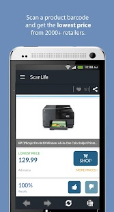 ScanLife Barcode & QR Reader- screenshot thumbnail