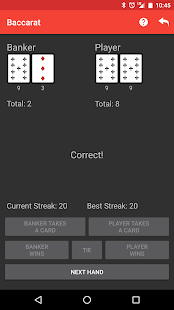Learn Baccarat- screenshot thumbnail