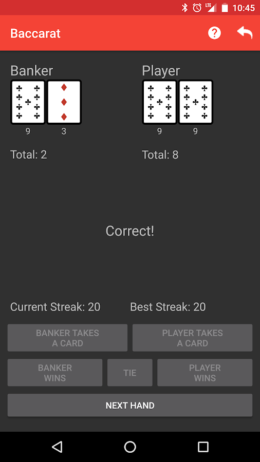 Learn Baccarat- screenshot