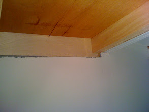 Photo: Interior roof before it was bonded
